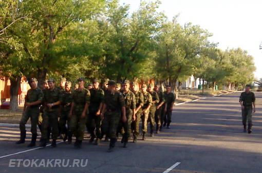 Поступление в военное училище во время срочной службы