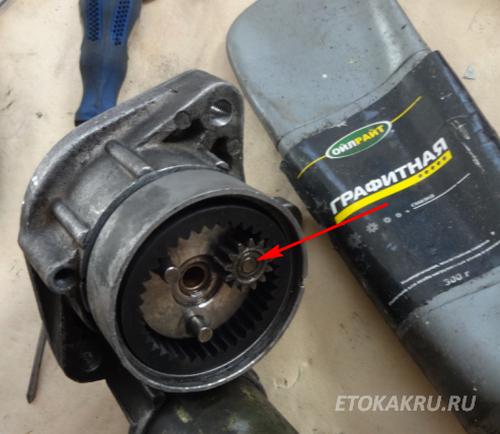 Сборка и ремонт стартера БМВ е46 320d