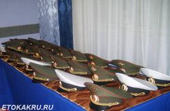 армейские фуражки