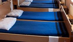 заправленные по-армейски кровати