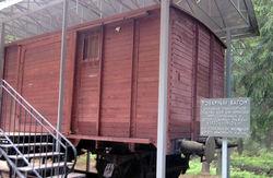 Товарный вагон из Катыни