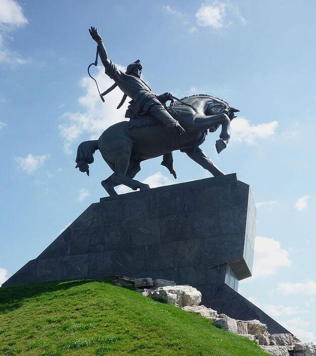 Салават Юлаев - народный герой Башкирии